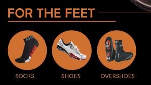 cycling clothing for the feet
