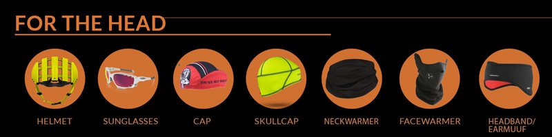 Cycling clothing for the head