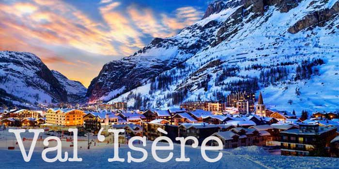 ski resort val isere